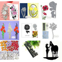Metal Knurling Cutting Dies Stencils Scrapbook Animal Model Album DIY Craft