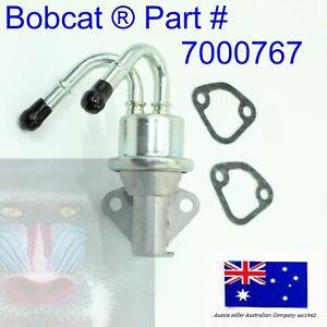 Diesel Fuel Lift Pump fits Bobcat 7000767 S205 T180 T190 5600 5610 KUBOTA V2607T