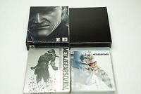Metal Gear Solid 4 Guns of the Patriots Limited PS3 Konami Sony Playstation 3