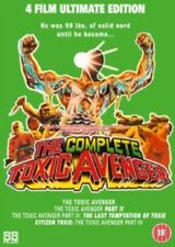 The Toxic Avenger Movie Collection (4 Films) New Region 2 DVD