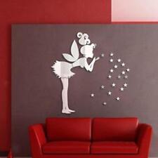 Stickers Muraux Miroir 3D Autocollant Murale Décoration Chambre d'enfant