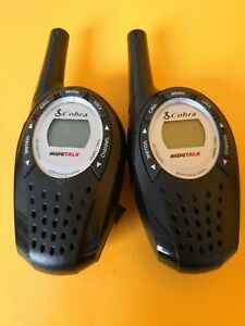 Cobra microTalk Two-Way Radios Walkie-Talkies 22 Channels