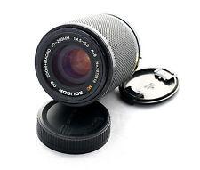 Soligor C/D 70-200mm  Zoom Macro f/4.5-5.6 lens  for Pentax Ricoh PK-A R mount