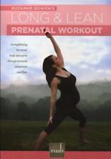 Pregnancy DVD - Ruah Long and Lean Prenatal Workout SUZANNE BOWEN