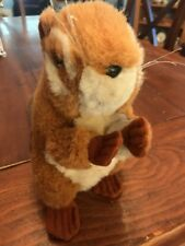 2001 SMITHSONIAN'S  BACKYARD REALISTIC LIFELIKE PLUSH DOLL FIGURE SOFT CHIPMUNK