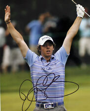 PGA Rory McIlroy Signed Autograph Reprint Photo - Celebrating