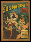 Sub-Mariner Comics #4 Coverless o/w Complete Golden Age Timely Superhero 1941