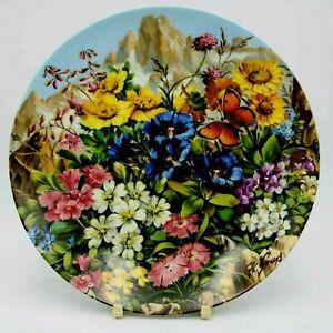 Furstenberg Wilde Schonheiten Decorative Plate Hans Grab - Between The Rocks