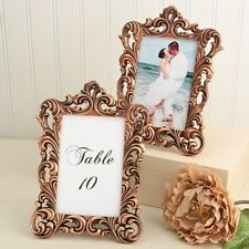 30 Vintage Copper Baroque Wedding Reception Table Number Frame Centerpiece's