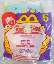 1999 Vintage McDonald's Happy Meal Disney Winnie The Pooh Piglet Toy Mip C10!