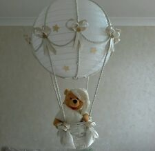 Winnie THE POOH IN MONGOLFIERA Luce Paralume MADE to Order