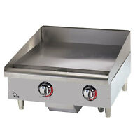 Star Manufacturing 524TGF, 24-Inch Star-Max Countertop Electric Griddle, UL-EPH,