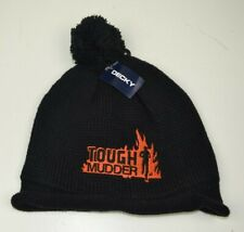 Tough Mudder Beanie, Black, Embroidered Logo, New With Tags