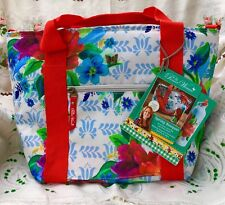 Pioneer Woman Spring Bouquet Insulated Lunch Bag Tote & Bottle NEW w/Tag REDUCED
