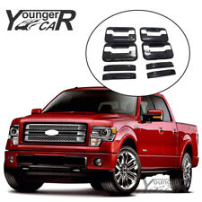For 2004-2014 Ford F-150 F150 Door Handle Covers GLOSS BLACK NO Passenger KH