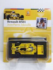 New listing Renault RS01 1977 #15 Jean-Pierre Jabouille World Champion formula 1 1:43 Altaya