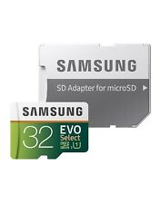 Micro SD Memory Card 32 GB Samsung EVO Select 95MB/s SDHC