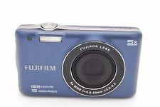Fujifilm FinePix JX665 16 MP 5x Optical Zoom Digital Camera BLUE