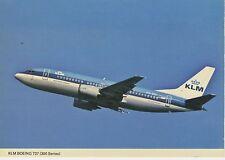 Postcard 1295 - Aircraft/Aviation KLM Boeing 737-300