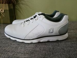 NEW FootJoy PRO SL Men's Spikeless Golf Shoes Size...10 Display