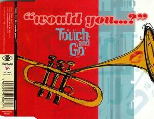 TOUCH AND GO Would You...? MCD 1998 RAR & WIE NEU Acid Jazz Klassiker !