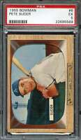 1955 BOWMAN #6 PETE SUDER PSA 5 ATHLETICS  *K2781