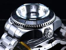 Invicta Reserve 52mm SKULL Hydromax Swiss Movmt GMT Black Dial&Bezel 1000M Diver