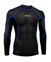 Mens Compression Armour Base Layer Top Full Sleeve Gym Sports Shirt