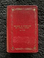 Vtg Brown & Bigelow Metal Double Book Playing Card Holder-see note