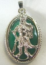 Guan Gong Pendant with Chain