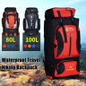 80/100L Outdoor Military Backpack Tactical Hiking Mountaineering Travel Rucksack
