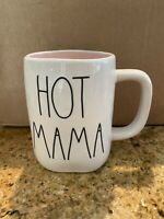 NEW RAE DUNN by Magenta HOT MAMA Coffee Mug With Pink Interior