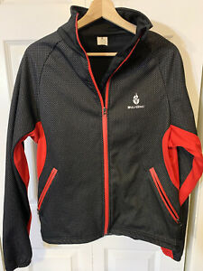 WolfBike Men's Sz XXL cycling jacket Black Red