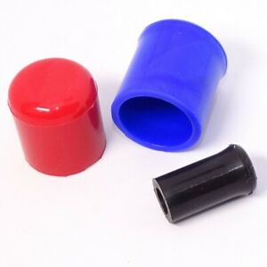 Silicone Hose End Blanking Caps Plugs Pipe Finisher Bung Rubber Any Colour