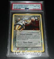 PSA 8 NM-MINT Metagross 113/113 Ex Delta Species GOLD STAR Pokemon Card