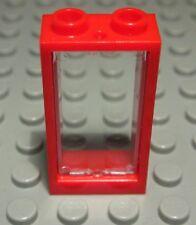 Lego 2x 4863 Rot Red Fensterrahmen 1x4x2 L20 Scheiben 4862 im Shop