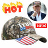 2020 Donald Trump  Cap USA Flag Camouflage Baseball Cap Hat Make Great Hot New