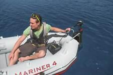 Intex Seahawk 4 Inflatable Raft Set and 2 Transom Mount Boat Trolling Motors