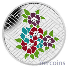Canada 2014 Craigdarroch Castle Stained Glass Enamel $20 Silver Proof Coin