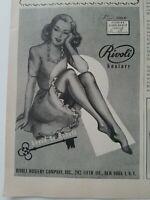 1947 women's Rivoli hosiery  stockings legs vintage fashion ad
