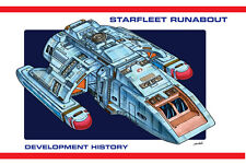 Star Trek Deep Space Nine Runabout Design Development Booklet