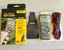 NEW FLUKE 101 Kit F101 Palm-sized Digital Multimeter compared w/ F17B no Amp