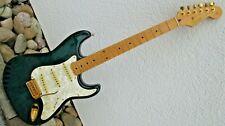 Squier Stratocaster Protone - E-.Gitarre -1997 Korea -by Fender -Metall=goldfarb