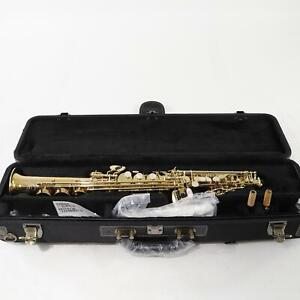 Yanagisawa Model SWO20 'Elite' Bronze Soprano Saxophone SN 00379736 OPEN BOX