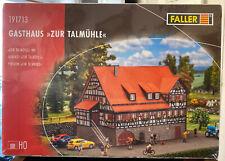 """191713 Faller HO Kit, Inn Gasthaus""""Zur Talmühle"""" - NEW 2017"""