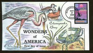 2006 Washington DC - Wonders of America - Chesapeake Bay - Collins FDC