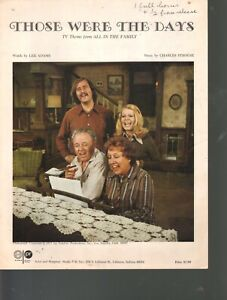 All in the Family TV Theme '71 Carroll O'Connor Jean Stapleton All in the Family