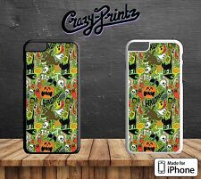 Halloween Scary Frankenstein Cool Hard Case Cover for all iPhone Models F15