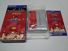 Aladdin Nintendo Super Famicom Japan