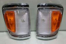 DEPO Toyota Hilux Indicator Signal Corner Lamp Light 88-97 LN106 4WD Pickup Pair